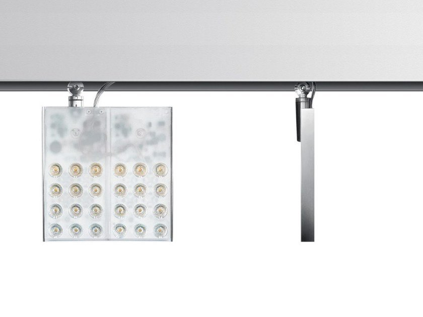 LED extruded aluminium Track-Light PAD SQUARE - Artemide