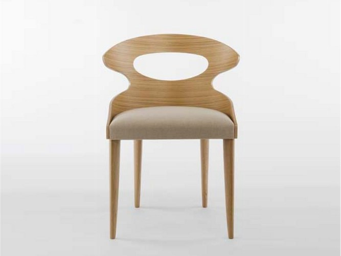 Oak chair PADDLE | Chair by Potocco