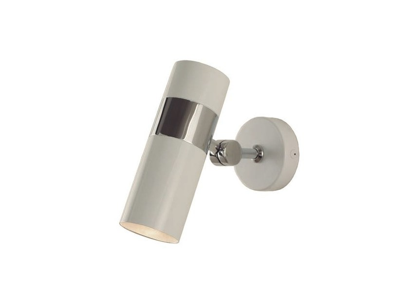 Direct light adjustable metal wall lamp PAGO | Adjustable wall lamp - Aromas del Campo