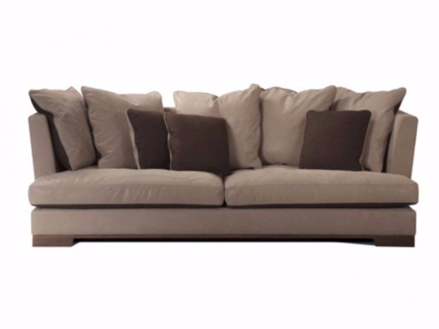 4 seater leather sofa PALACE - Canapés Duvivier