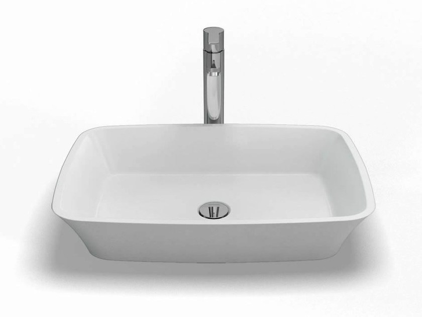Countertop rectangular washbasin PALERMO | Washbasin - Polo