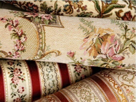 Washable fabric with floral pattern PALLADIO - FRIGERIO MILANO DESIGN