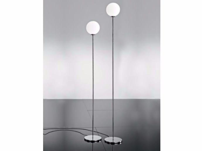 Glass floor lamp PALLINA | Floor lamp - Ailati Lights