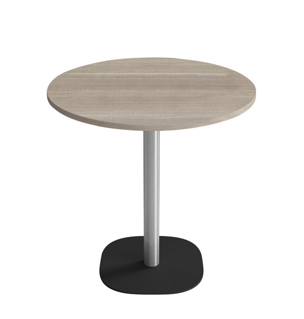 Round steel table PALLINO by IBEBI