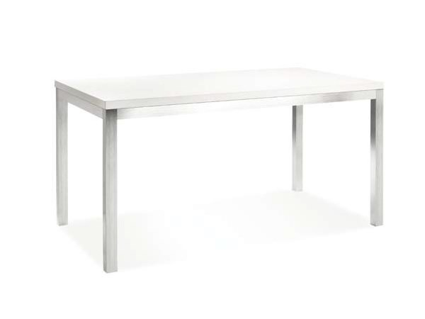 Extending rectangular laminate table PALOMAR 40 by CREO Kitchens