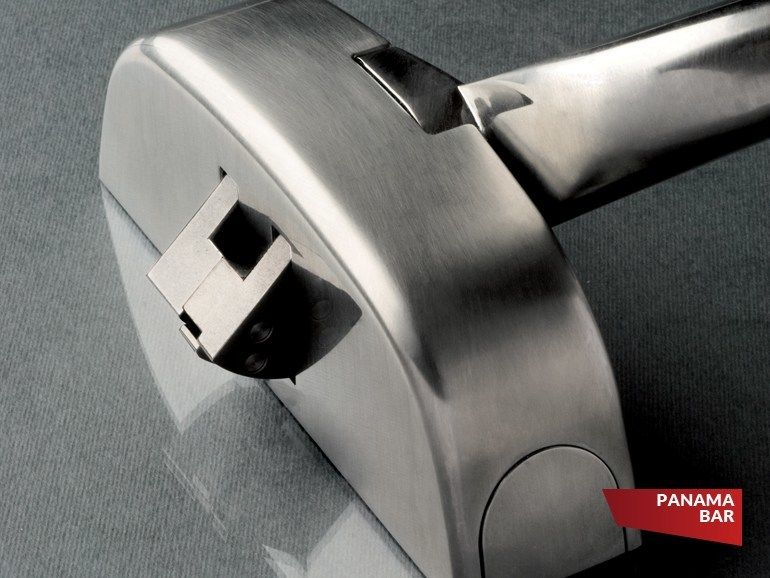 Emergency exit door handle PANAMA BAR - FAPIM