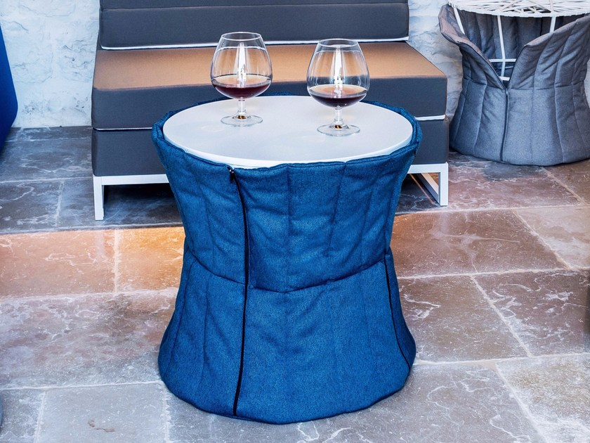 Pouf / coffee table / bedside table PANCIOTTO by Arketicom Design
