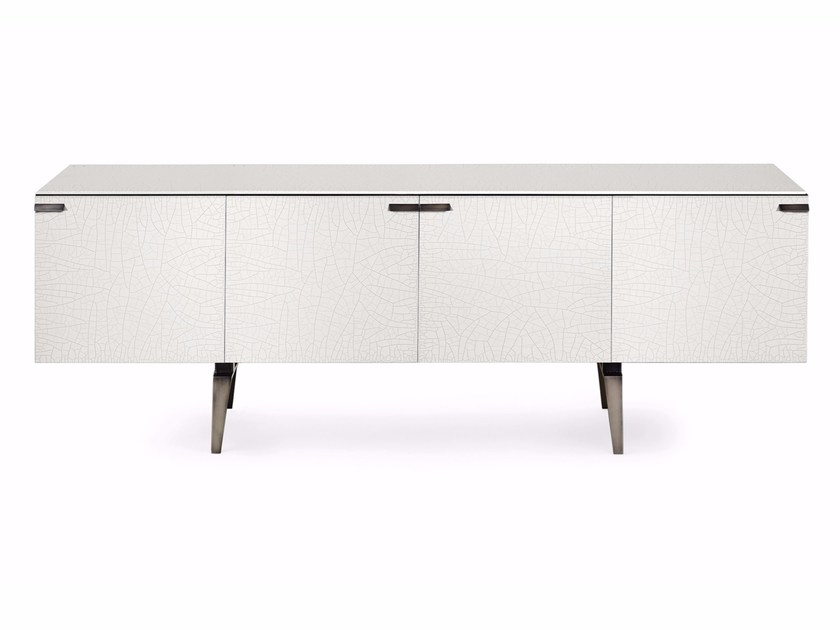Crystal sideboard with doors PANDORA CRAQUELÉ - Gallotti&Radice