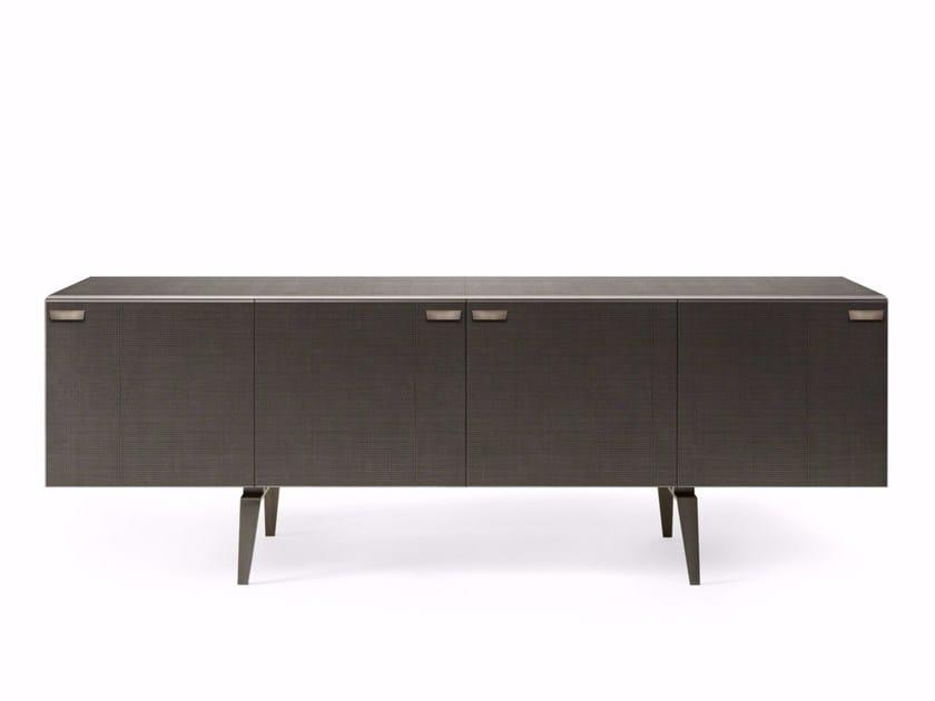 Crystal sideboard with doors PANDORA DECO' - Gallotti&Radice