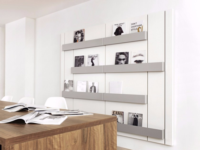 Sectional storage wall PANEL SIDEBOARDS AND DISPLAYS - Schönbuch
