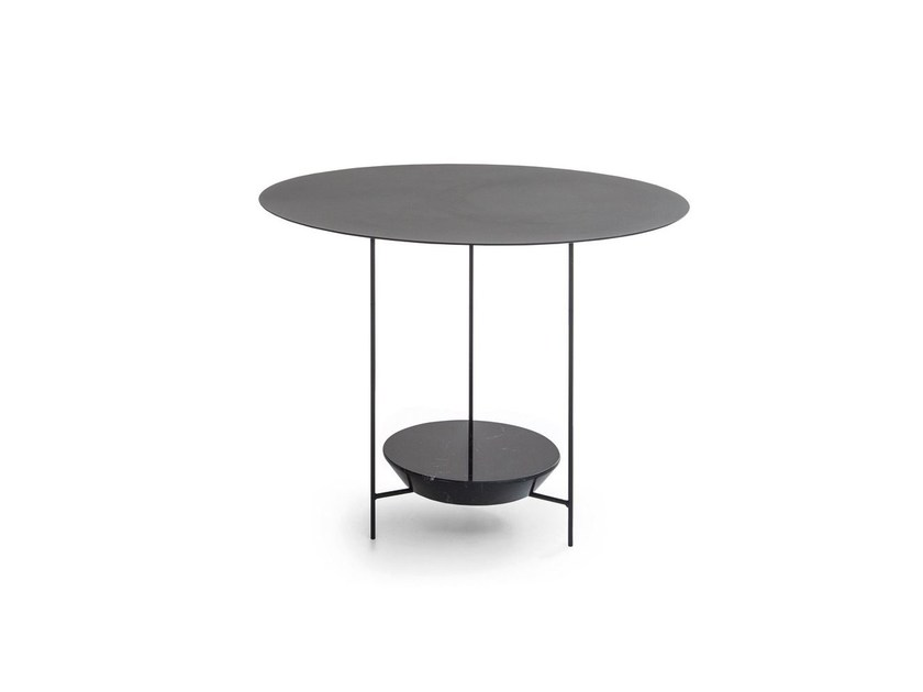 Round marble coffee table PANNA COTTA | Round coffee table by Molteni