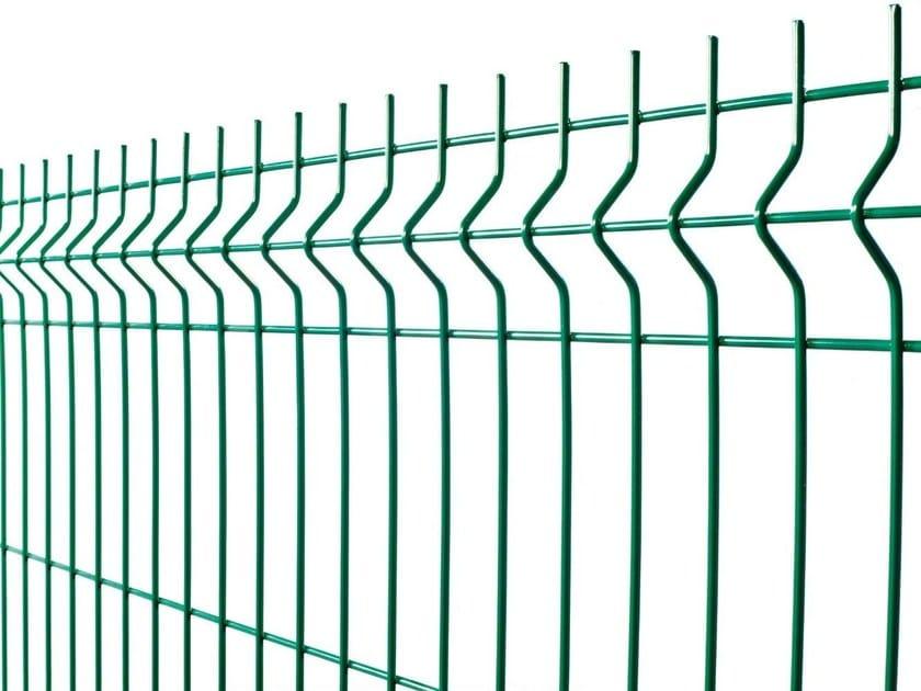 Plasticized electrically welded mesh Fence PANOPLI by Gruppo CAVATORTA