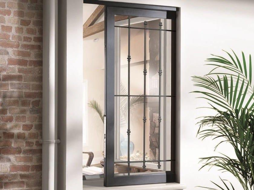 Controtelaio in alluminio per inferriate panoramico scrigno - Costo di una porta finestra ...