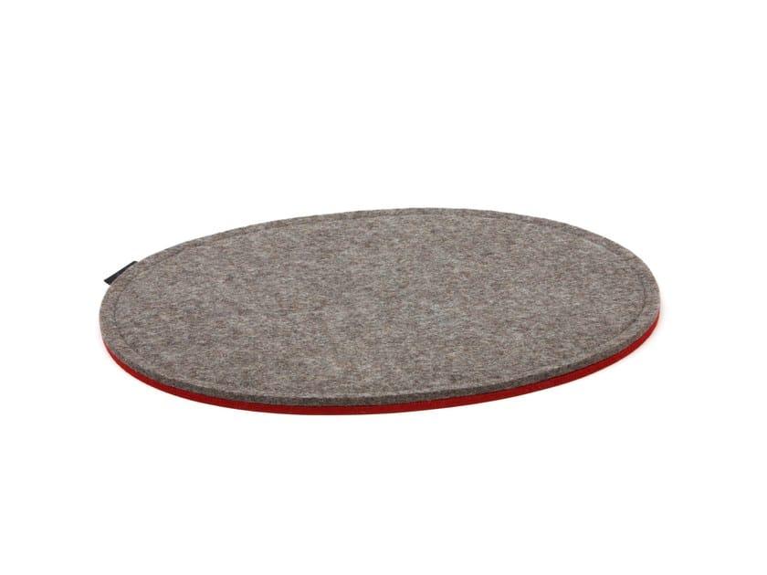 Oval chair cushion PANTON - HEY-SIGN