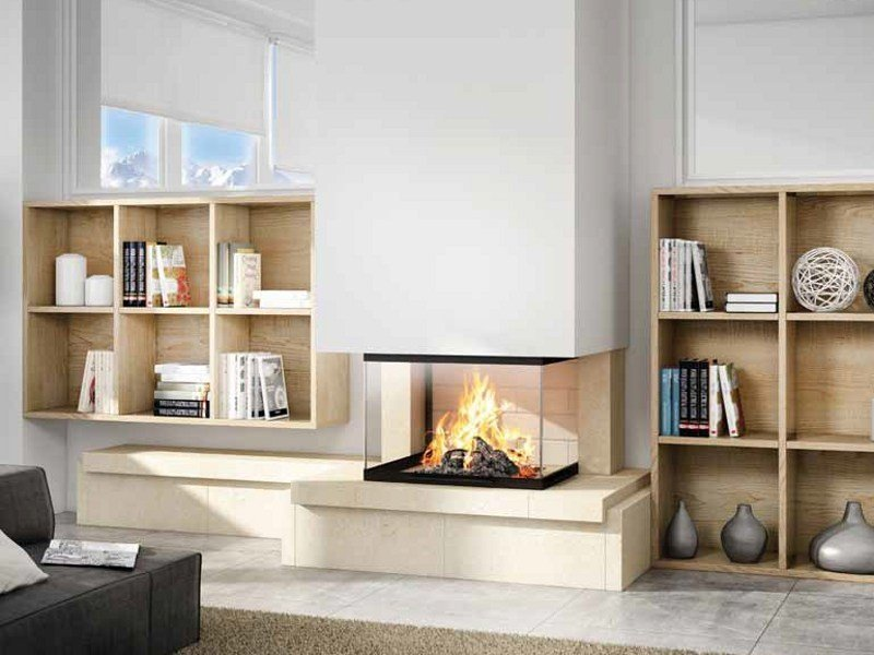 Stone Fireplace Mantel PAOLA - Axis