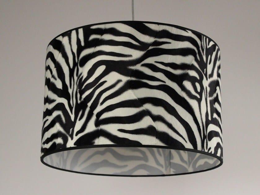 Horse hide lampshade Paralume zebrato - Ipsilon PARALUMI