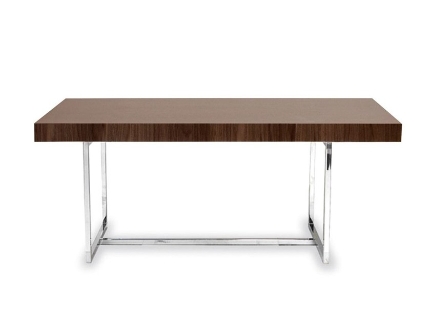 Rectangular wooden table PARENTESI | Wooden table - Calligaris