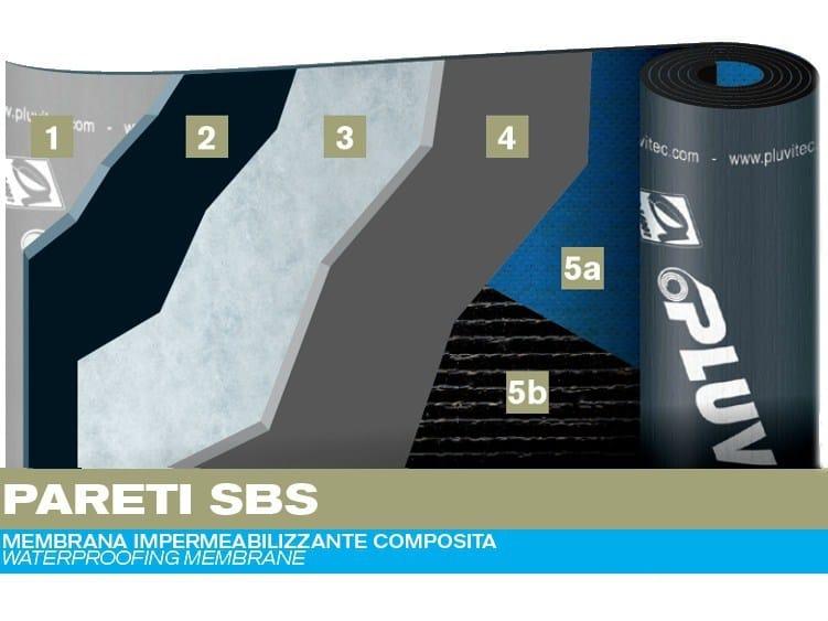 Prefabricated bituminous membrane PARETI SBS - PLUVITEC