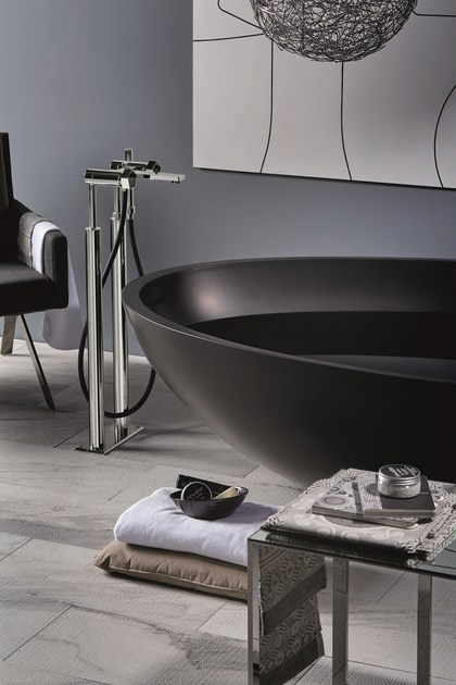 Floor standing bathtub set with hand shower PARK | Floor standing bathtub set - NEWFORM