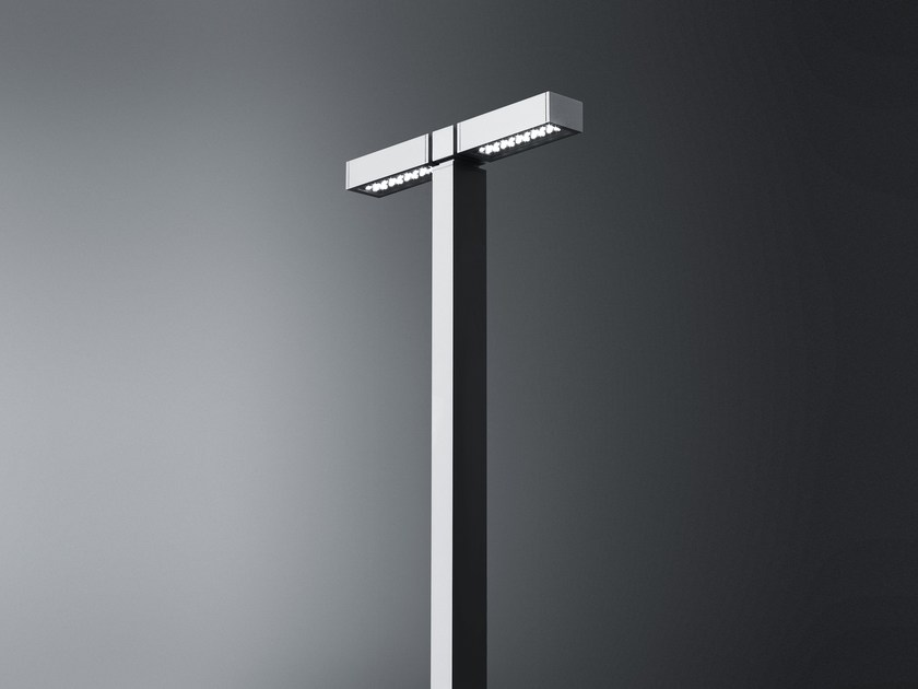Led post top luminaires PARK by SIMES