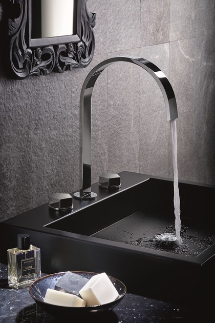 3 hole countertop washbasin tap PARK | Washbasin tap by NEWFORM
