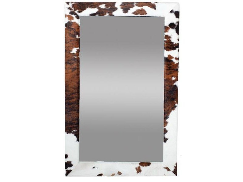 Rectangular wall-mounted framed mirror PARKER - AZEA