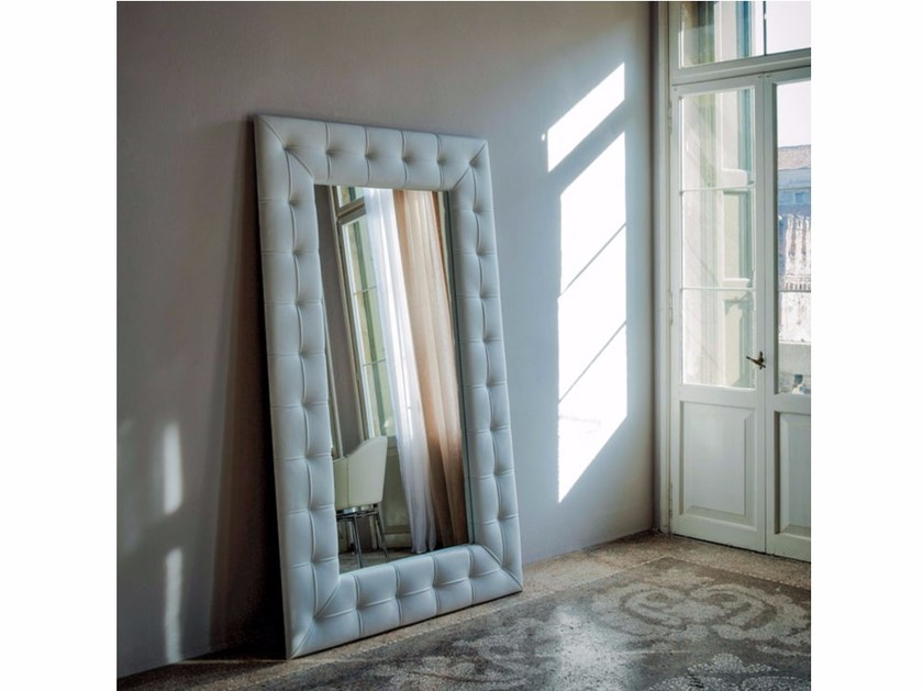 Freestanding framed mirror PASHÀ - Cattelan Italia