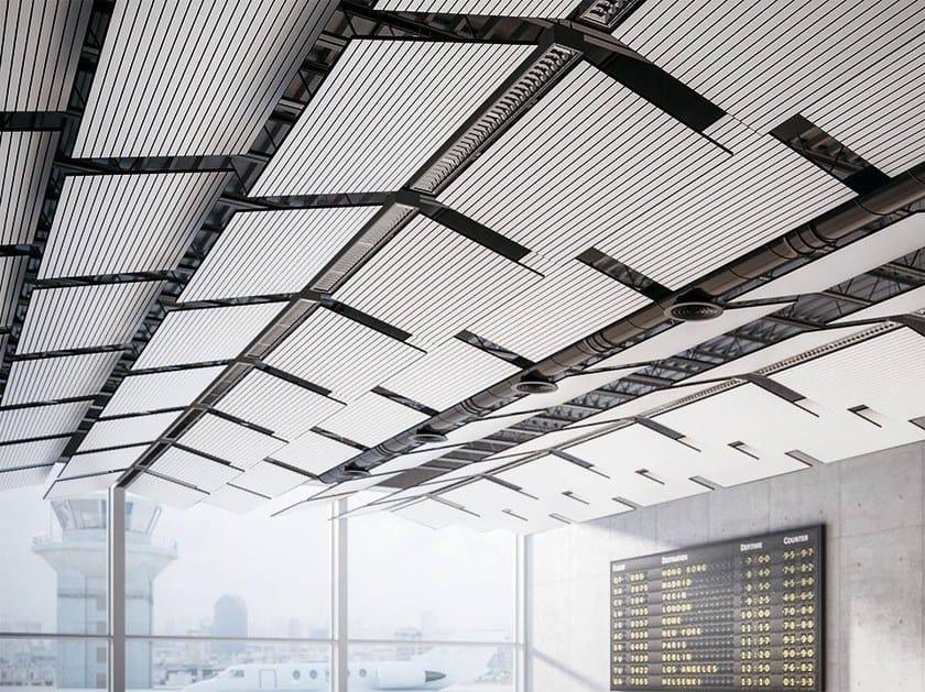 Hanging acoustical panels PASSEPARTOUT - FANTONI