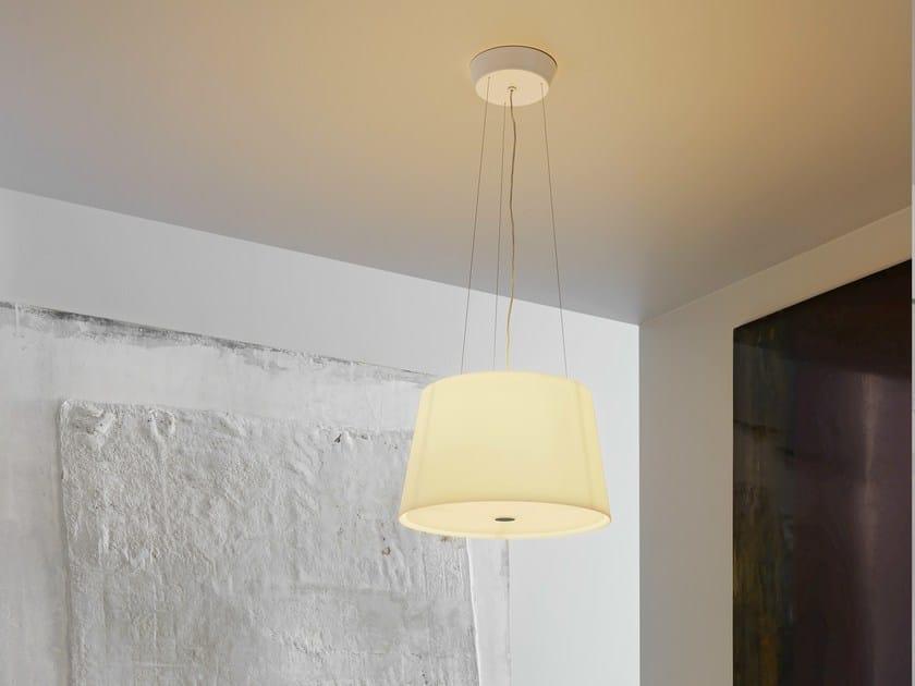 Blown glass pendant lamp PASSION | Pendant lamp - FontanaArte