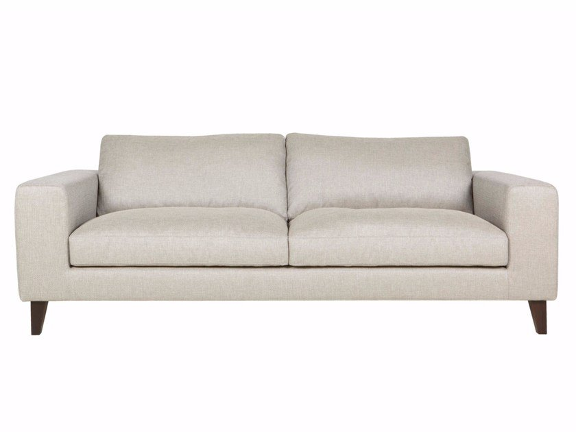 Upholstered 3 seater fabric sofa PASSION | 3 seater sofa - SITS