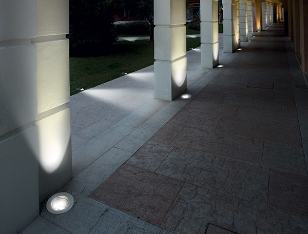 LED square Floor Light PASSUM Ultraflat - Goccia Illuminazione