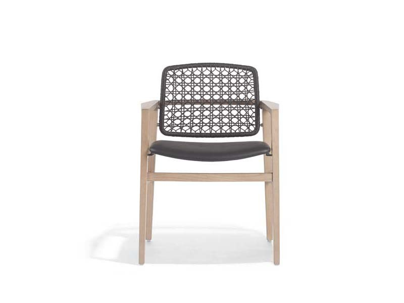 Rope chair with armrests PATIO | Chair with armrests - Potocco