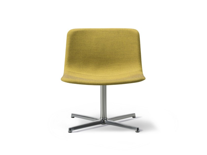 Swivel upholstered fabric chair PATO LOUNGE | Swivel chair by FREDERICIA FURNITURE