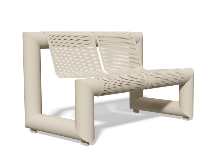 Bench with back PAUSA 1305 | Bench with back - BENKERT BÄNKE