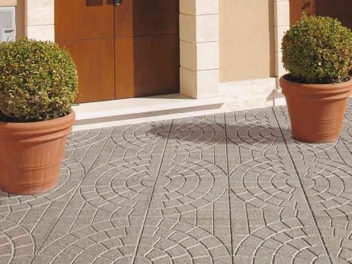 Pavimento per esterni carrabile in graniglia pav 5 bugne for Pavimenti per esterni carrabili offerte