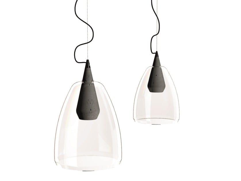Cement pendant lamp PAVÉ - 929MILANO by Rossini Illuminazione