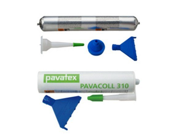Special fixing for insulation PAVACOLL 310/600 by Pavatex