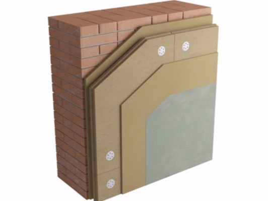 Exterior insulation system PAVADENTRO by Naturalia BAU