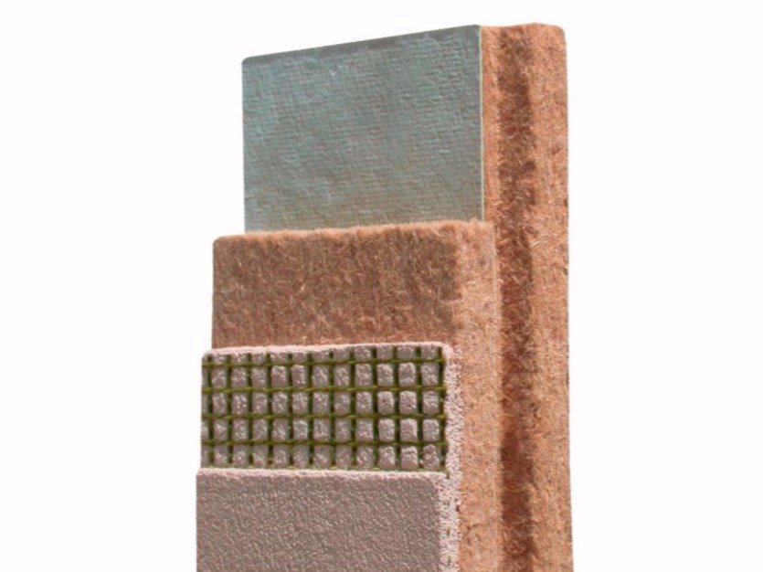 Wood fibre thermal insulation panel PAVADENTRO - Pavatex