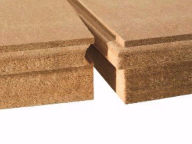 Wood fibre thermal insulation panel PAVATHERM-PLUS - Pavatex