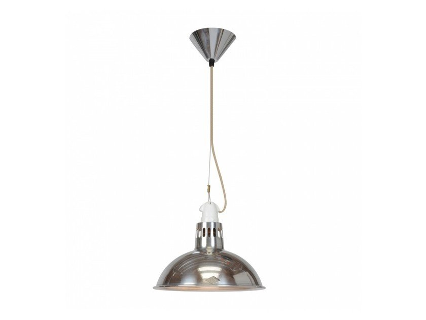 Direct light aluminium pendant lamp with dimmer PAXO - Original BTC