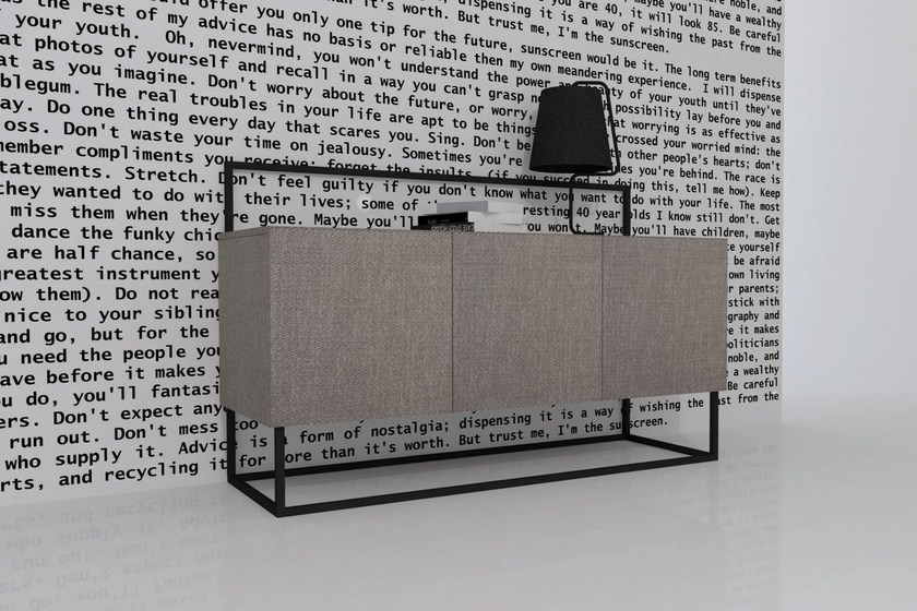 Sideboard with drawers PAXX - Dizzconcept