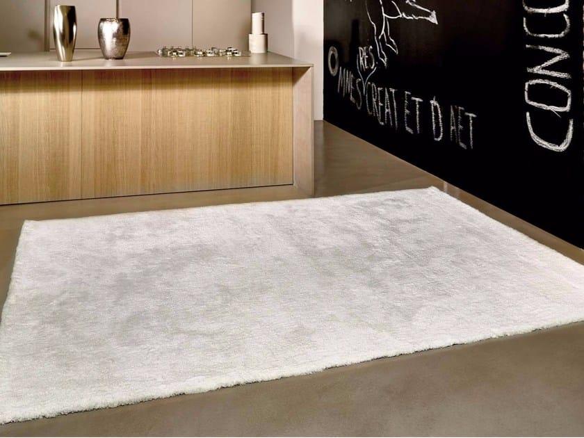 Contemporary style rectangular synthetic fibre rug PEARL | Synthetic fibre rug - ITALY DREAM DESIGN - Kallisté