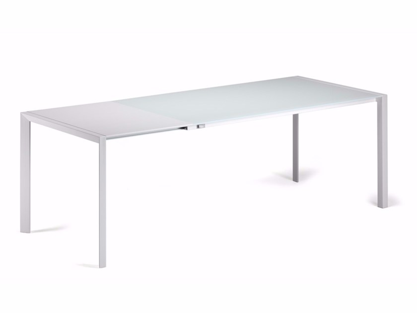 Extending rectangular laminate table PEDRO DRIVE - Cattelan Italia