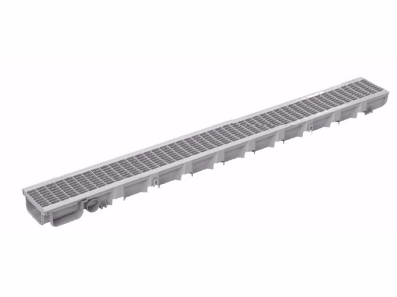 Polypropylene Drainage channel and part PEGASUS PLUS ONE S by Dakota