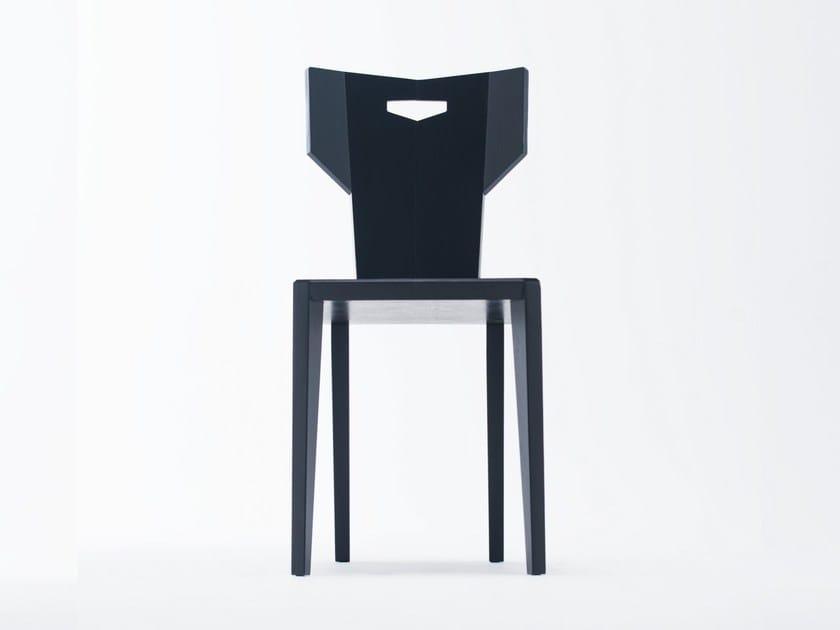 Sedia laccata in frassino PEGAZ | Sedia laccata by ST FURNITURE