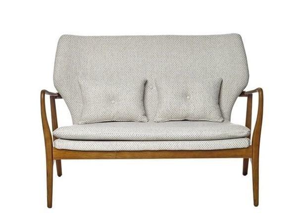 Fabric small sofa PEGGY - Pols Potten