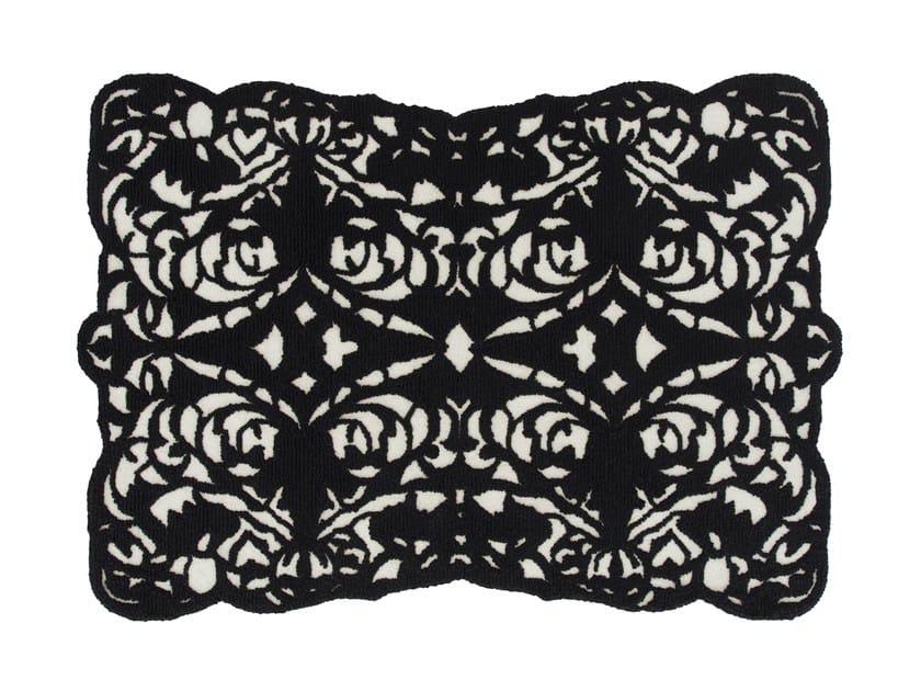Wool rug PEINETA by GAN