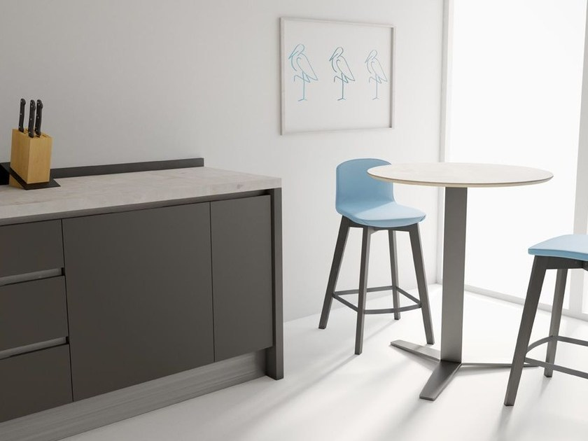 Round high table PELICCAN | High table by CANCIO