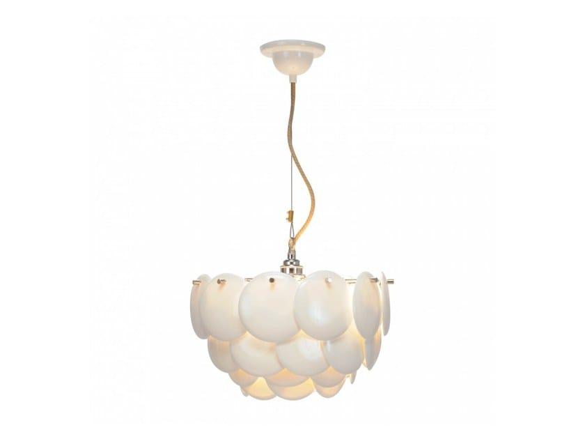 Direct light porcelain pendant lamp with dimmer PEMBRIDGE 1 - Original BTC